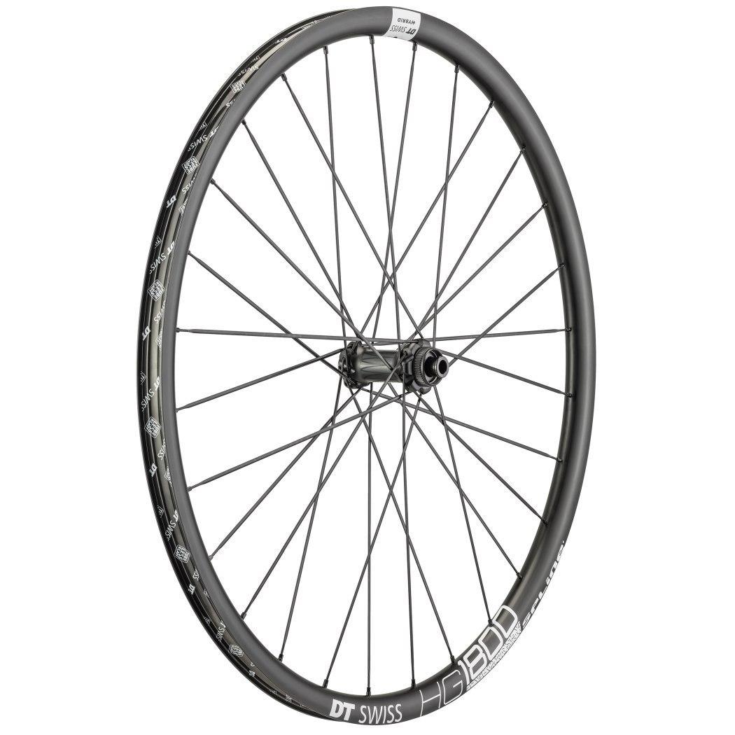 "Image of DT Swiss HG 1800 Spline Black db 25 - 27.5"" Wheelset - Clincher - Centerlock / 6 Bolt - FW: 12x110mm   RW: 12x148mm Boost"