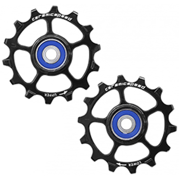 CeramicSpeed Pulley Wheels for SRAM Eagle & Eagle AXS - for 1x12-speed - black