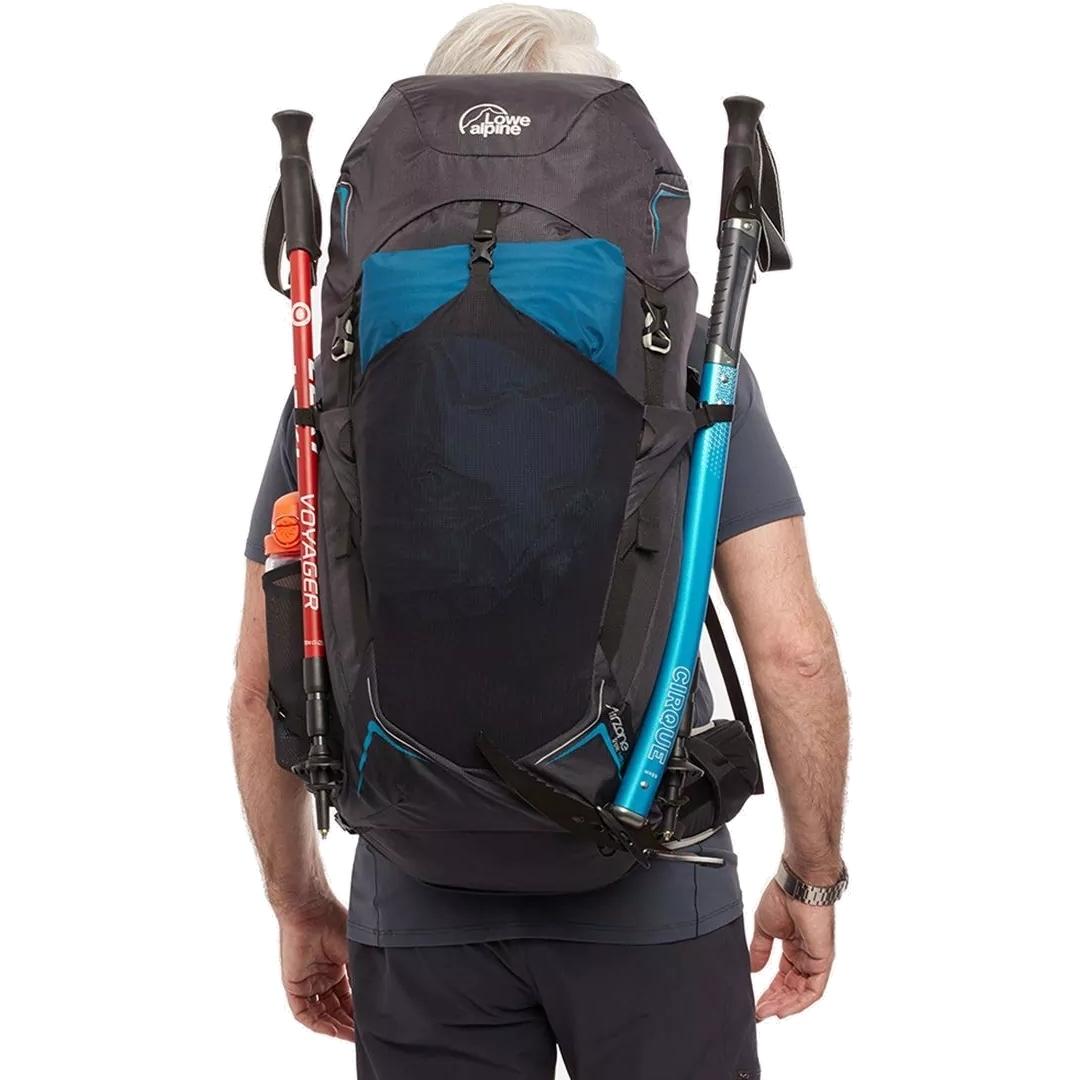 Image of Lowe Alpine AirZone Trek 45:55 Backpack - Black