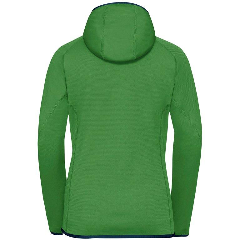 Image of Vaude Women's Tekoa Fleece Jacket - parrot green