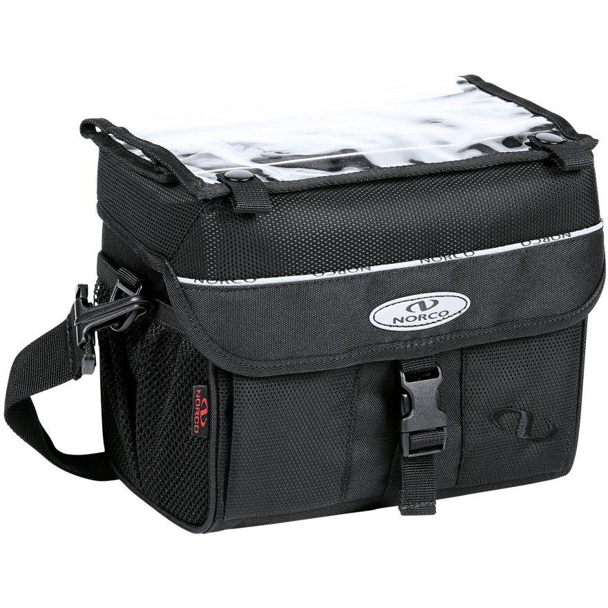Norco Orlando Handlebar Bag 0246S - black/grey
