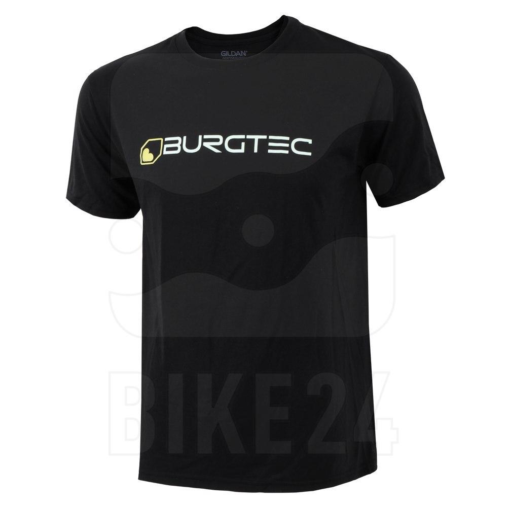 Burgtec Logo Tech T-Shirt - black