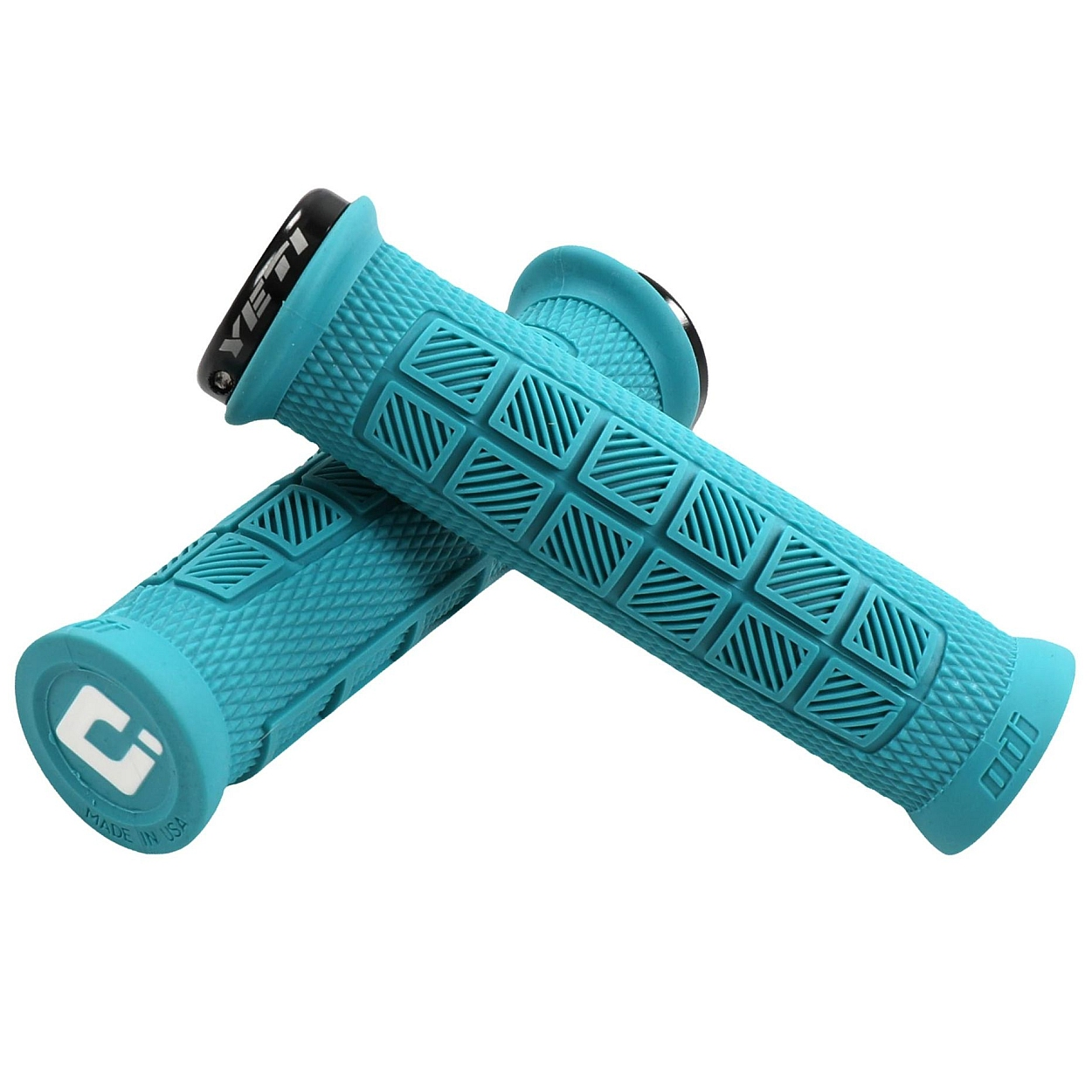 Yeti Cycles ODI ELITE PRO Yeti Grips - turquoise