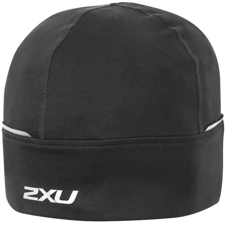 2XU Run Beanie Gorro de punto - black/black