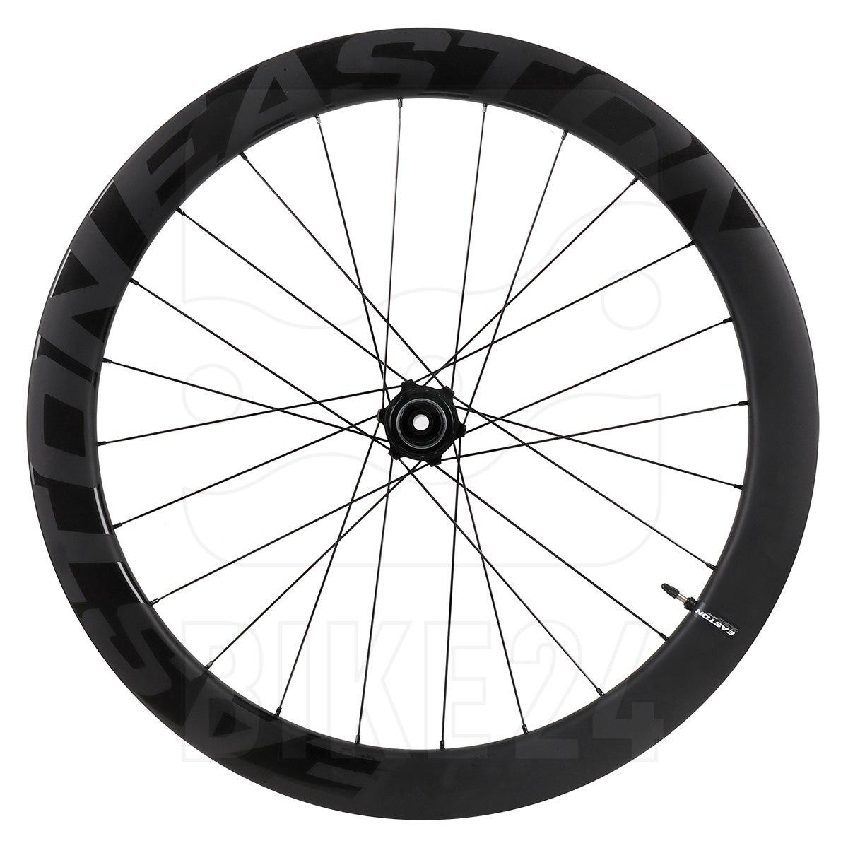 Easton EC90 Aero 55 Carbon Disc Rear Wheel for Clincher - Centerlock - 12x142mm - matte carbon
