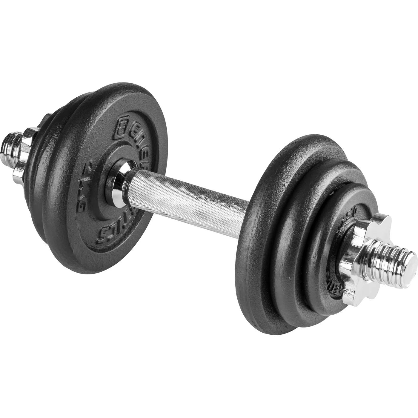 ENERGETICS Dumbbell Set 10kg CI - black/black