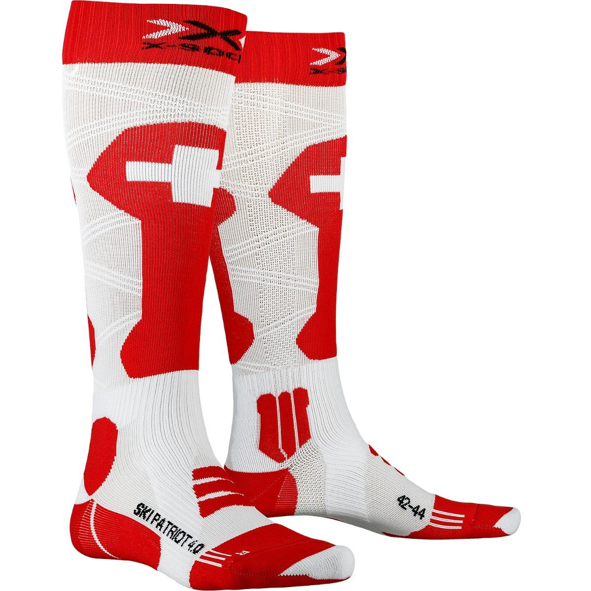 X-Socks Ski Patriot 4.0 Socken - switzerland