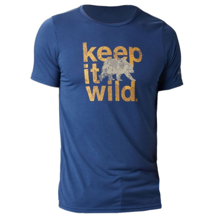 Columbia Terra Vale II T-Shirt - Carbon Keep It Wild