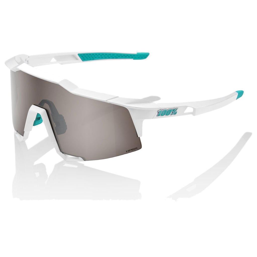 100% Speedcraft HiPER Silver Mirror Lens - BORA-hansgrohe Special Edition - Team White