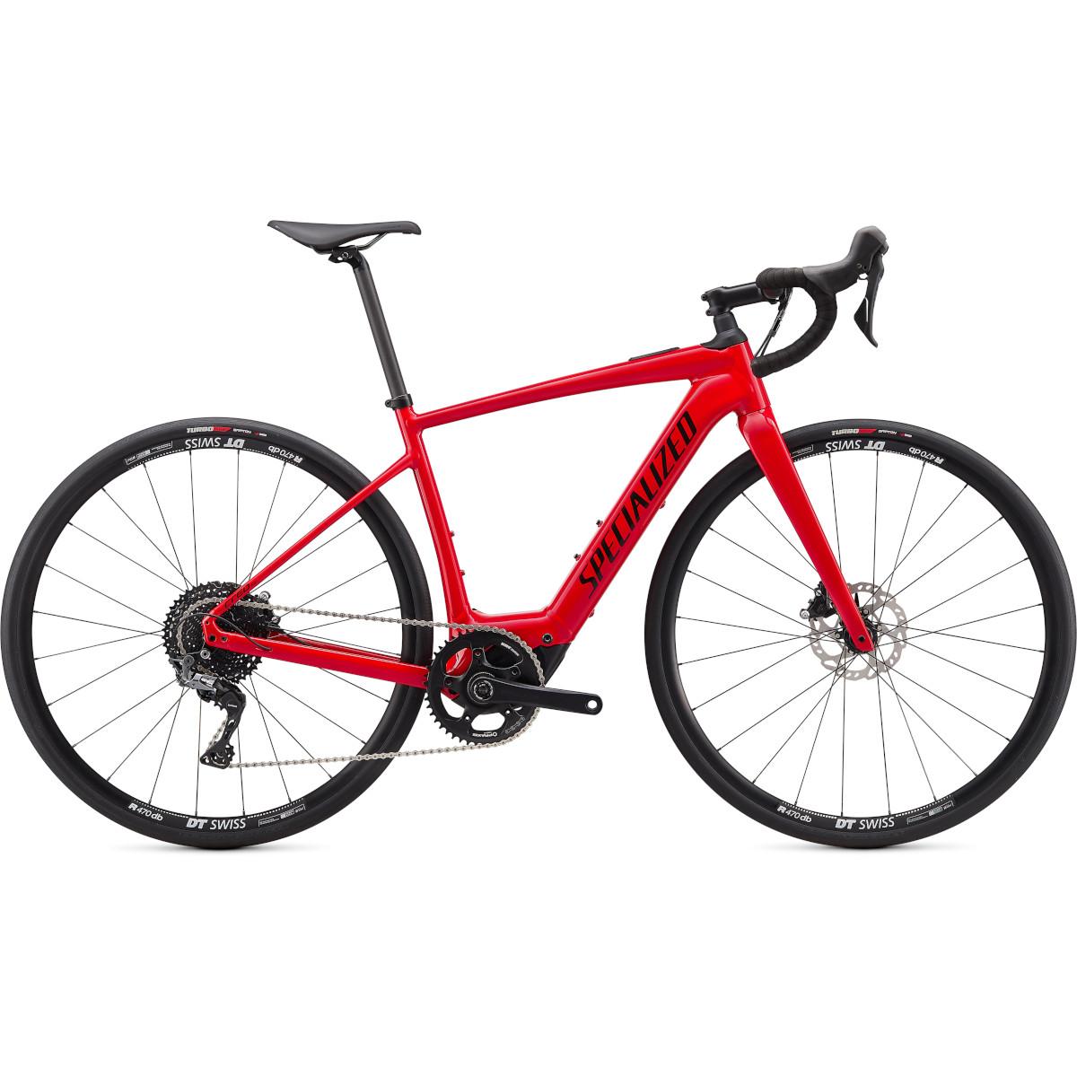 Produktbild von Specialized TURBO CREO SL COMP E5 - Gravel E-Bike - 2022 - flo red / black