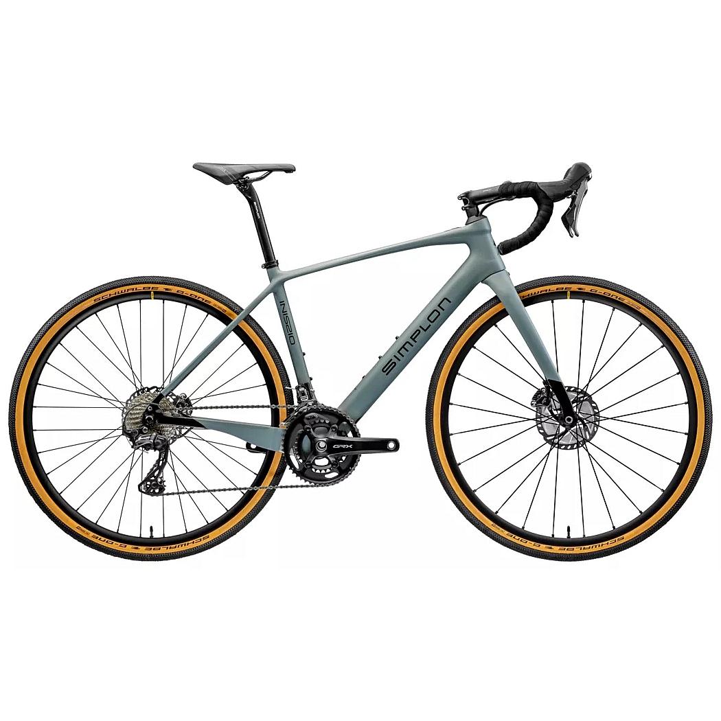Produktbild von Simplon INISSIO Pmax GRX 600 - Gravel E-Bike - 2021 - shady grey matt / black glossy