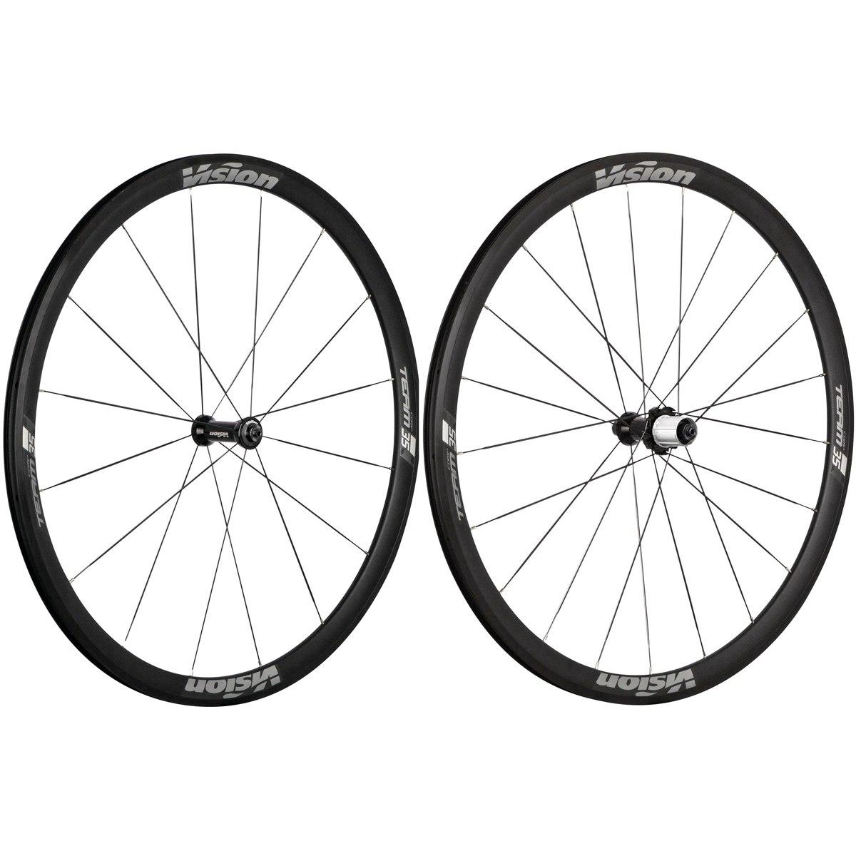 Bild von Vision Team 35 Comp SL Laufradsatz Drahtreifen - schwarz/grau