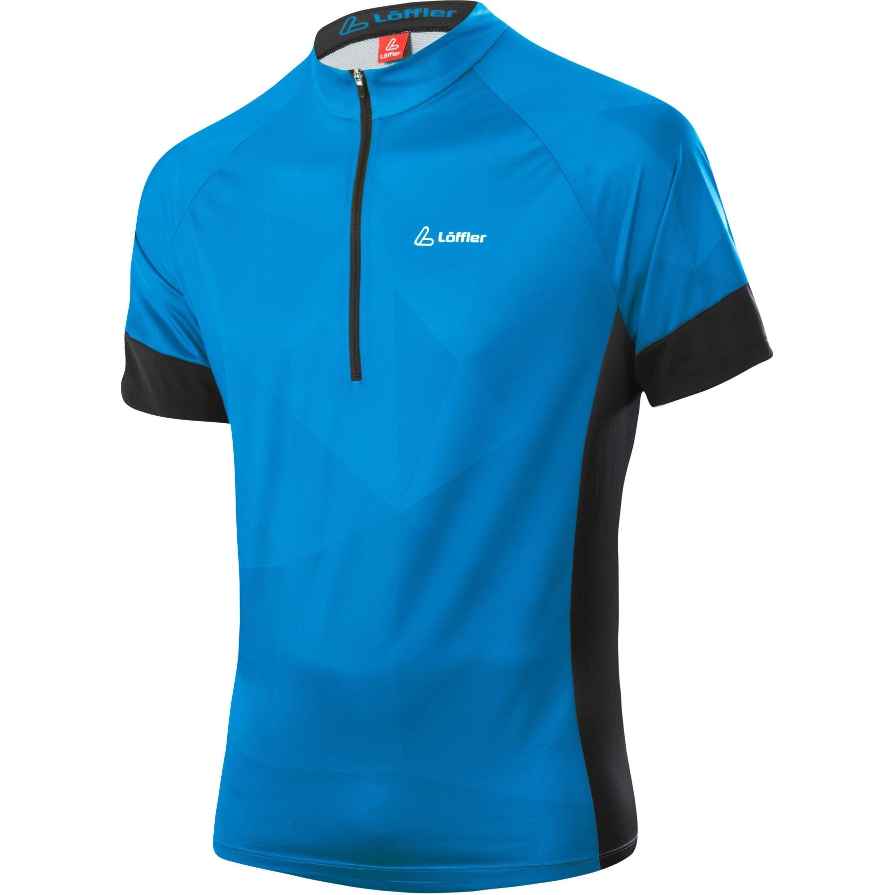 Bild von Löffler Bike Shirt HZ Rocks 24608 - blue lake 426