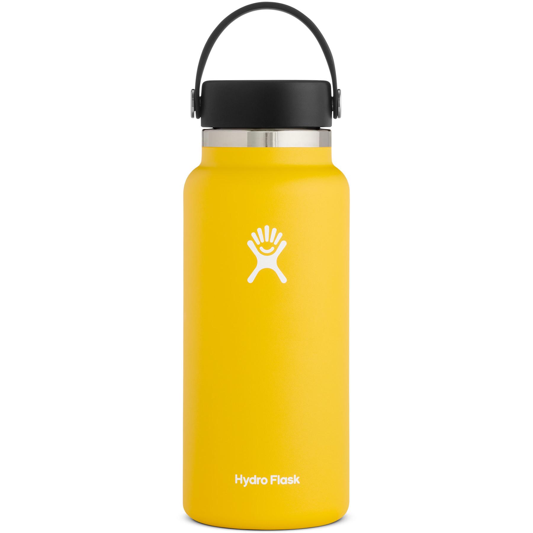 Produktbild von Hydro Flask 32 oz Wide Mouth mit Flex Cap 2.0 Thermoflasche 946 ml - Sunflower