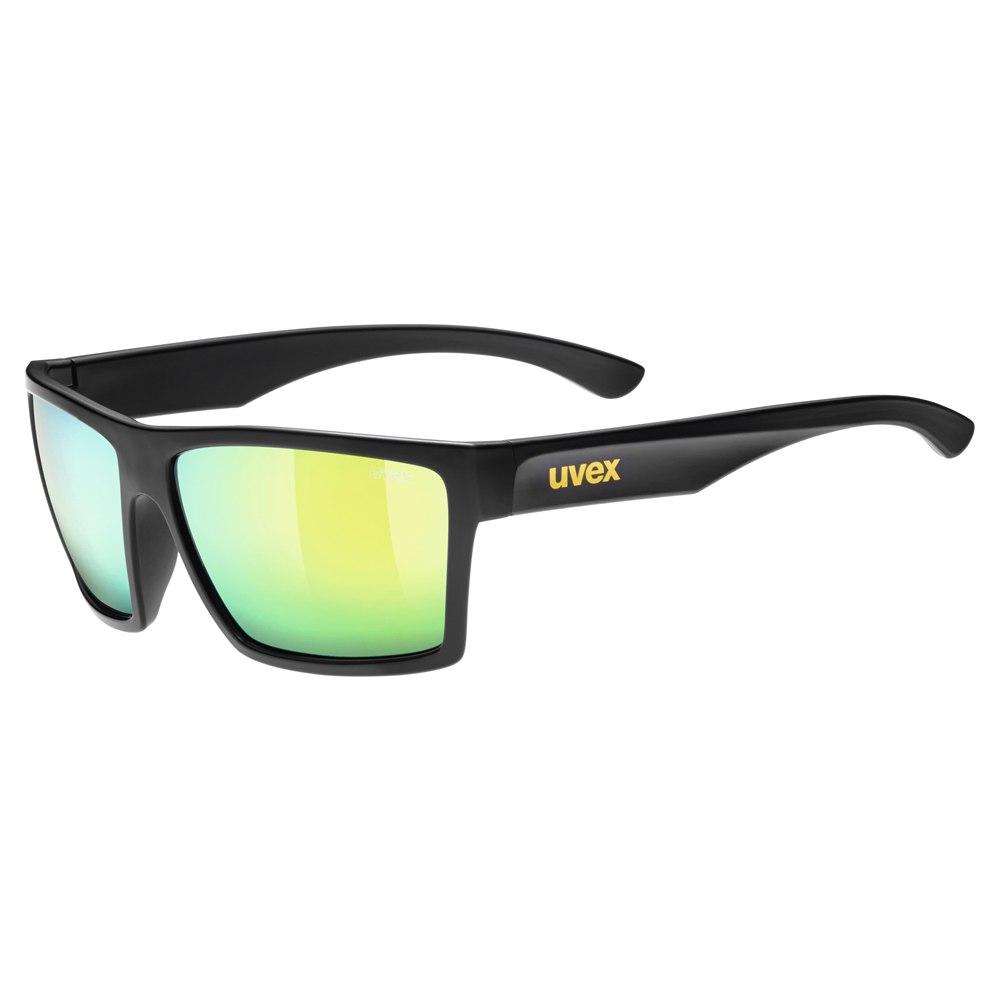 Uvex lgl 29 - black mat/mirror yellow Brille