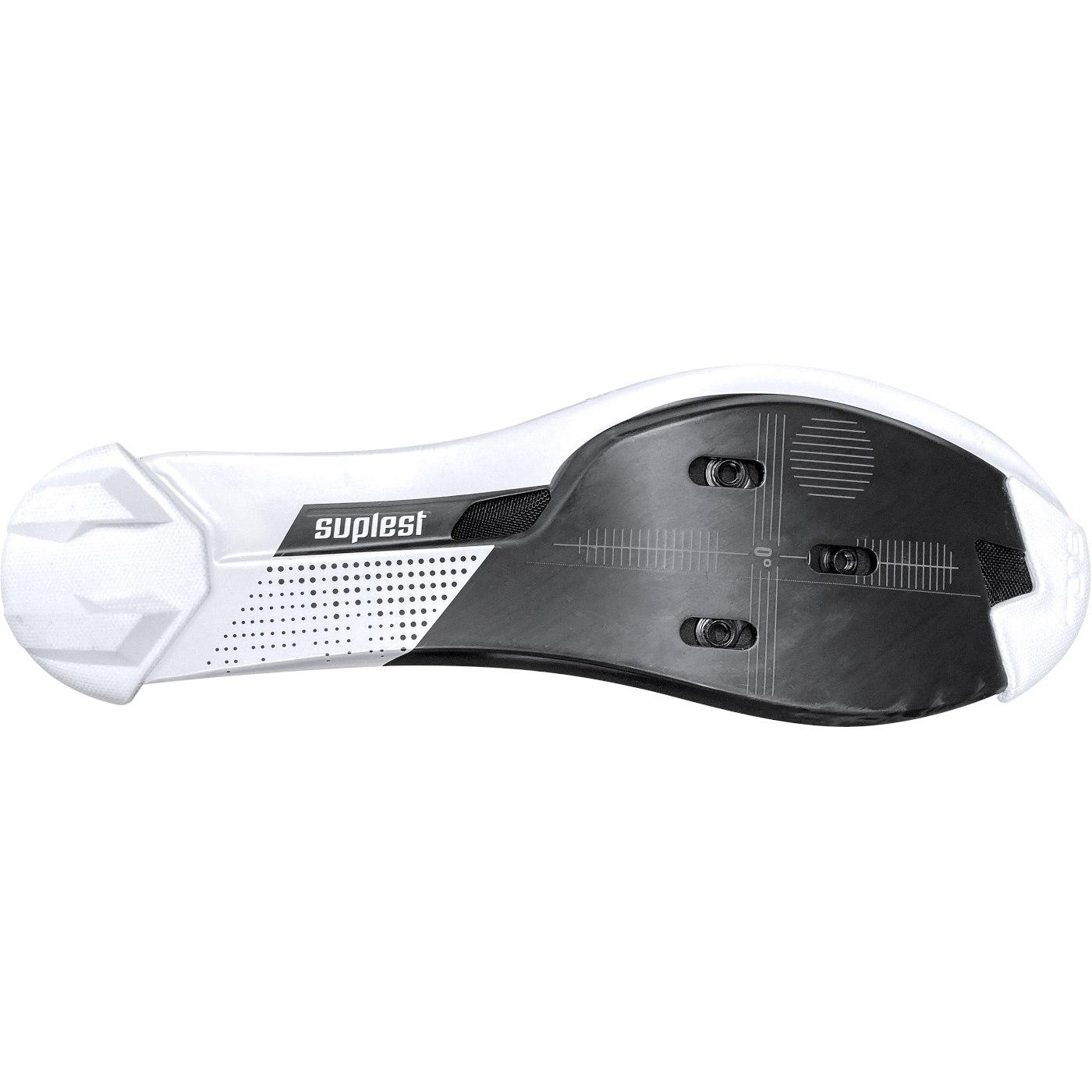 Image of Suplest EDGE+ Double BOA IP1 Road Pro Shoe - White / Black 01.062.