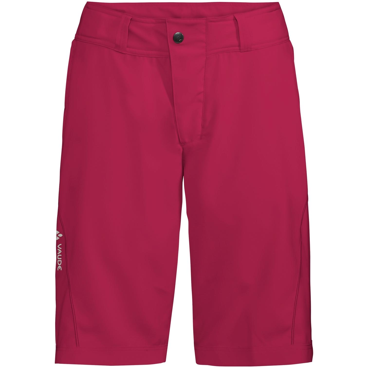 Vaude Ledro Damen Shorts - crimson red