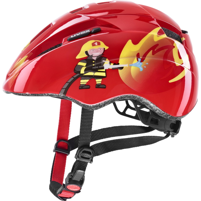 Uvex kid 2 Kinderhelm - red fireman