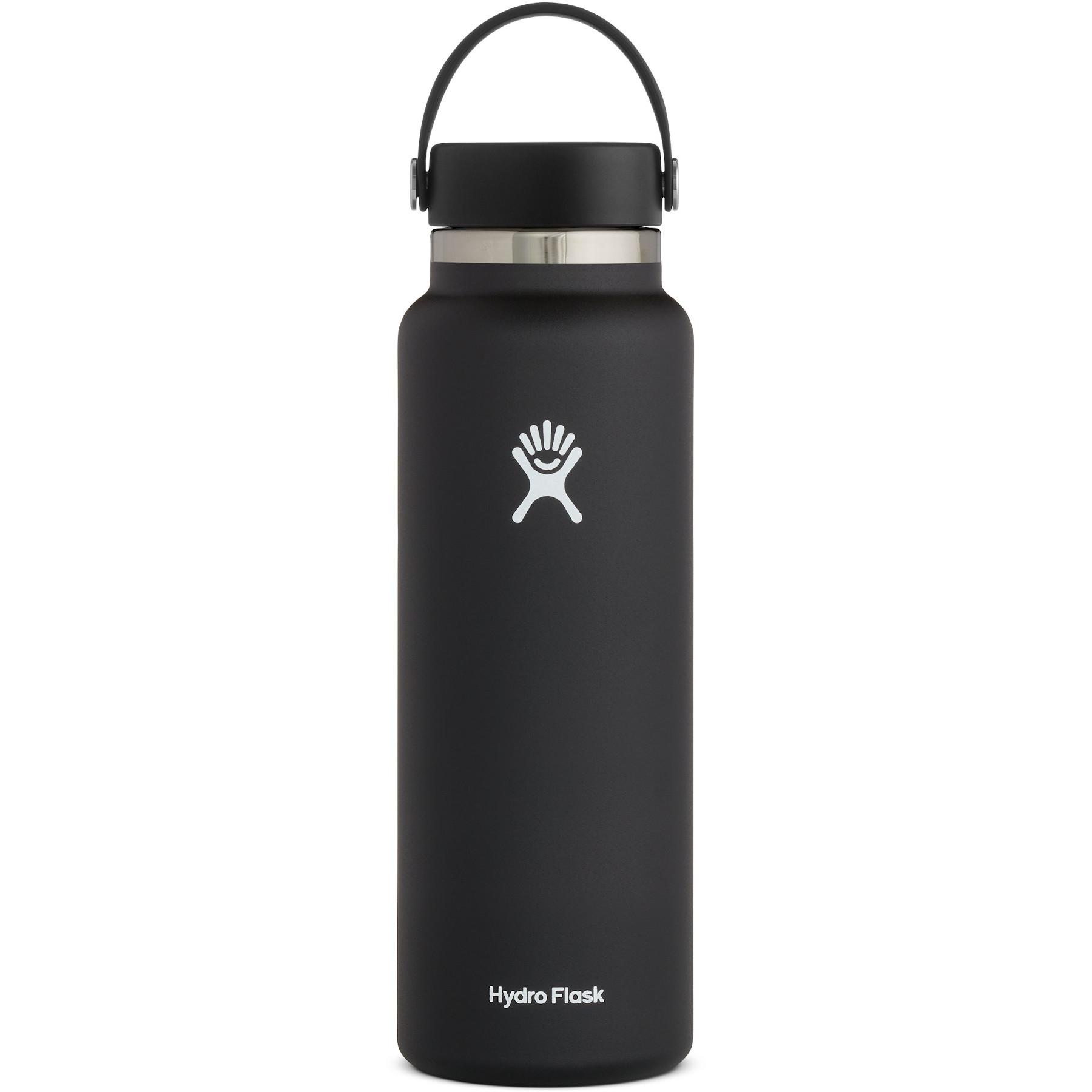 Bild von Hydro Flask 40 oz Wide Mouth mit Flex Cap 2.0 Thermoflasche 1182 ml - Black