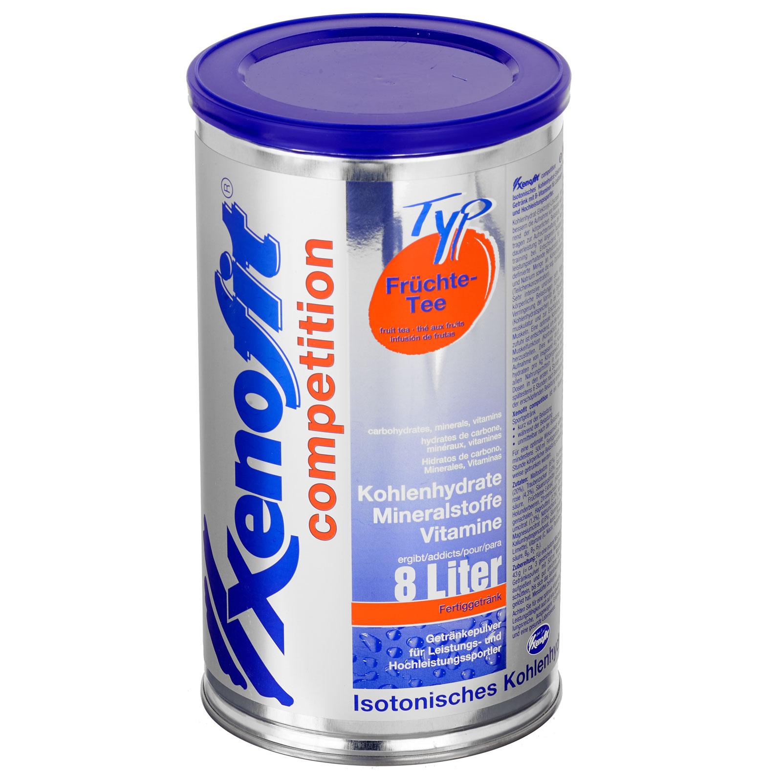 Xenofit Competition Früchte-Tee - Isotonisches Kohlenhydrat-Getränk - 688g
