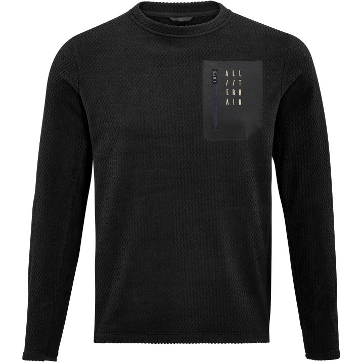 Picture of CUBE ATX Fleece Long Sleeve Jersey - black