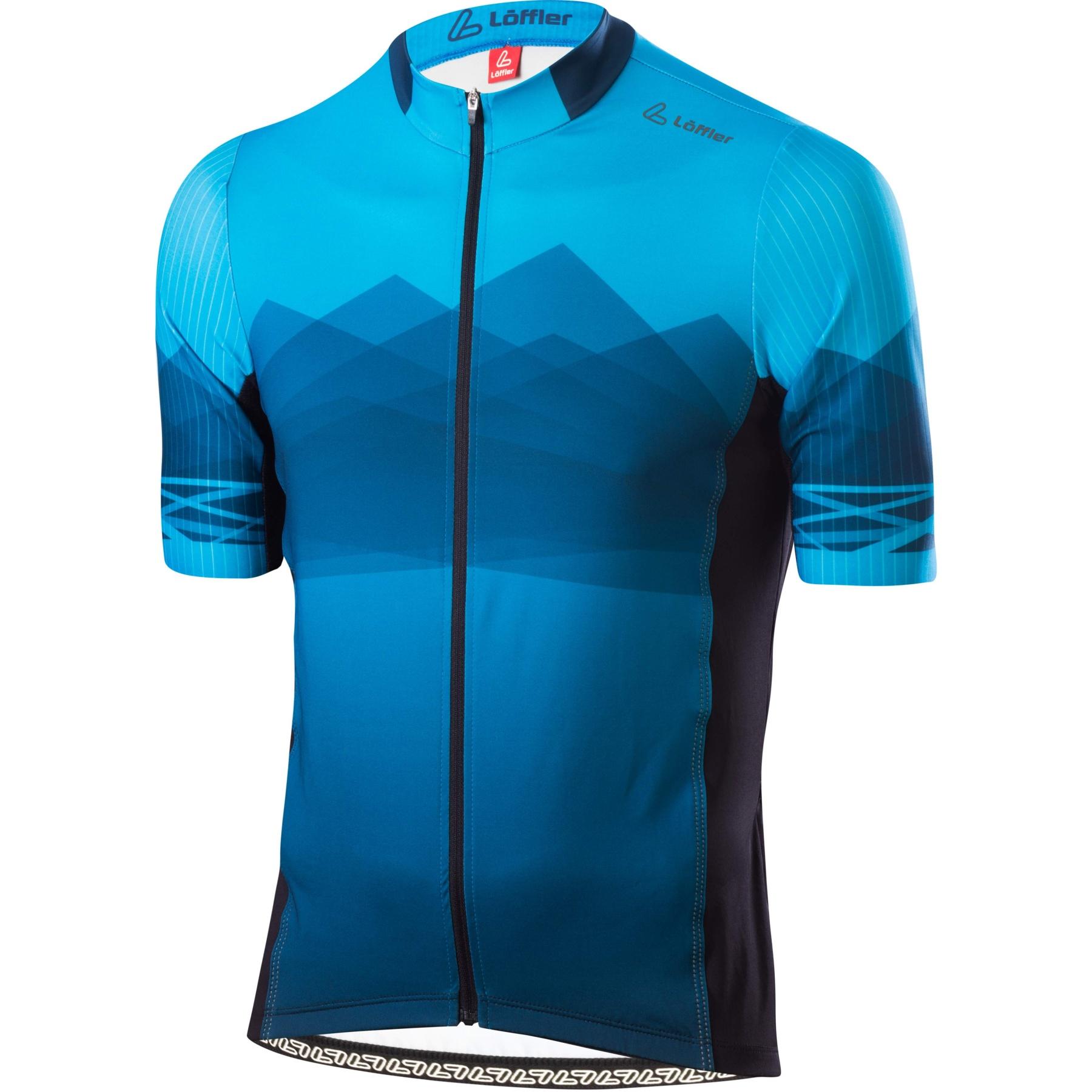 Löffler Bike Trikot FZ Hotbond RF 24597 - blue lake 426
