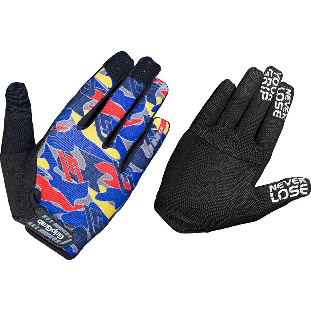 GripGrab Rebel Rugged Full Finger Glove - Blue Camo