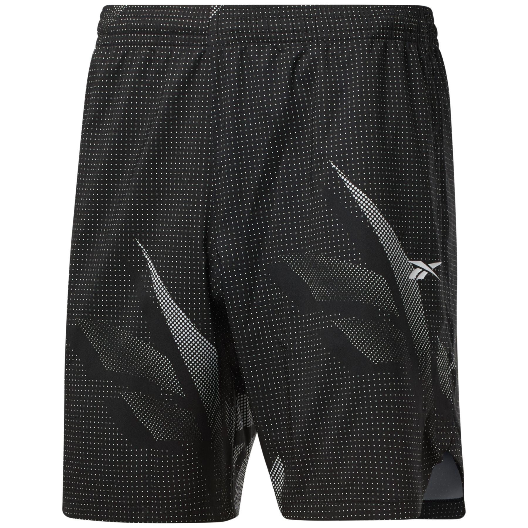 Reebok Workout Ready Allover Print Pantalones cortos - black GL3187