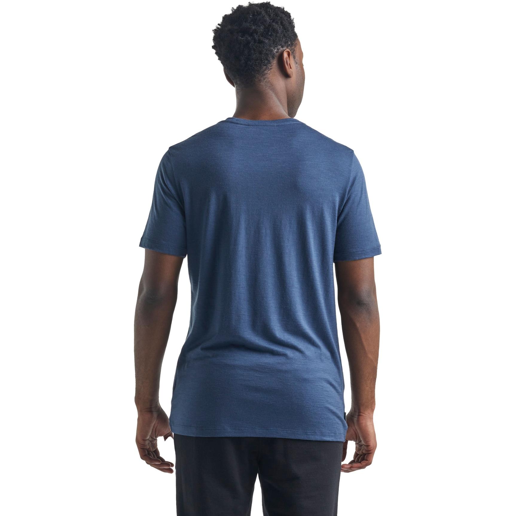 Bild von Icebreaker Tech Lite Crewe St Anton Herren T-Shirt - Serene Blue