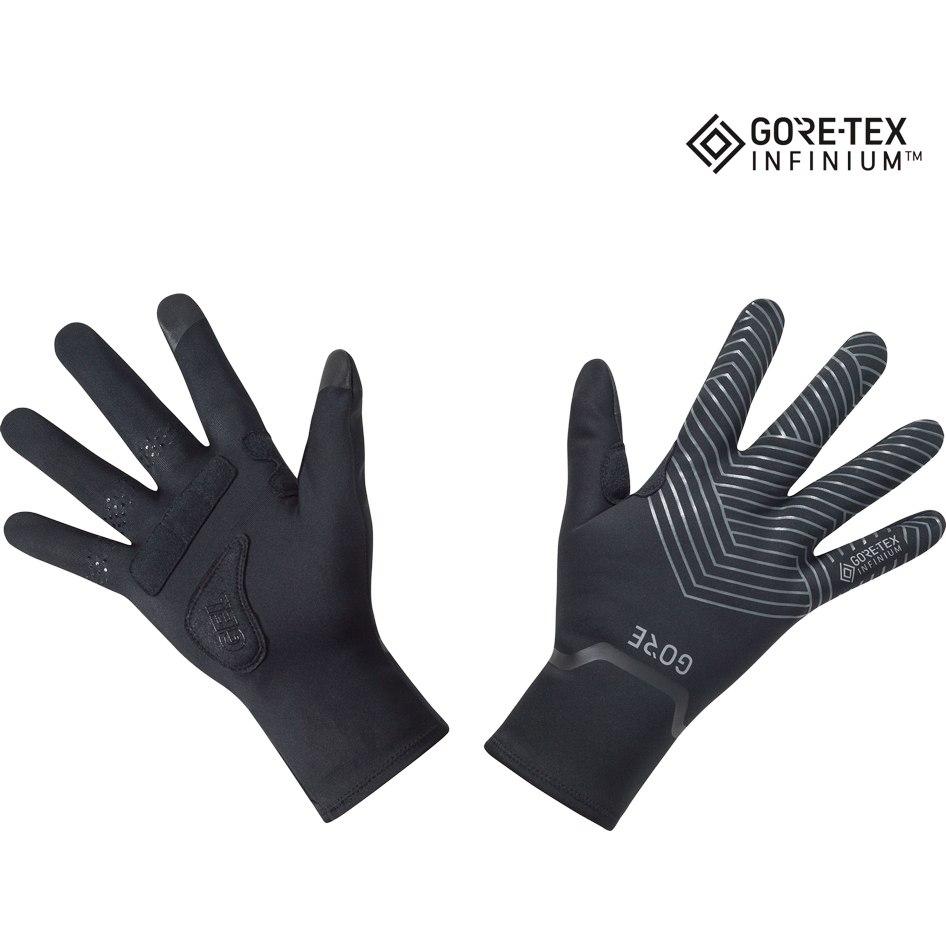 Produktbild von GORE Wear C3 GORE-TEX INFINIUM™ Stretch Mid Handschuhe - black 9900