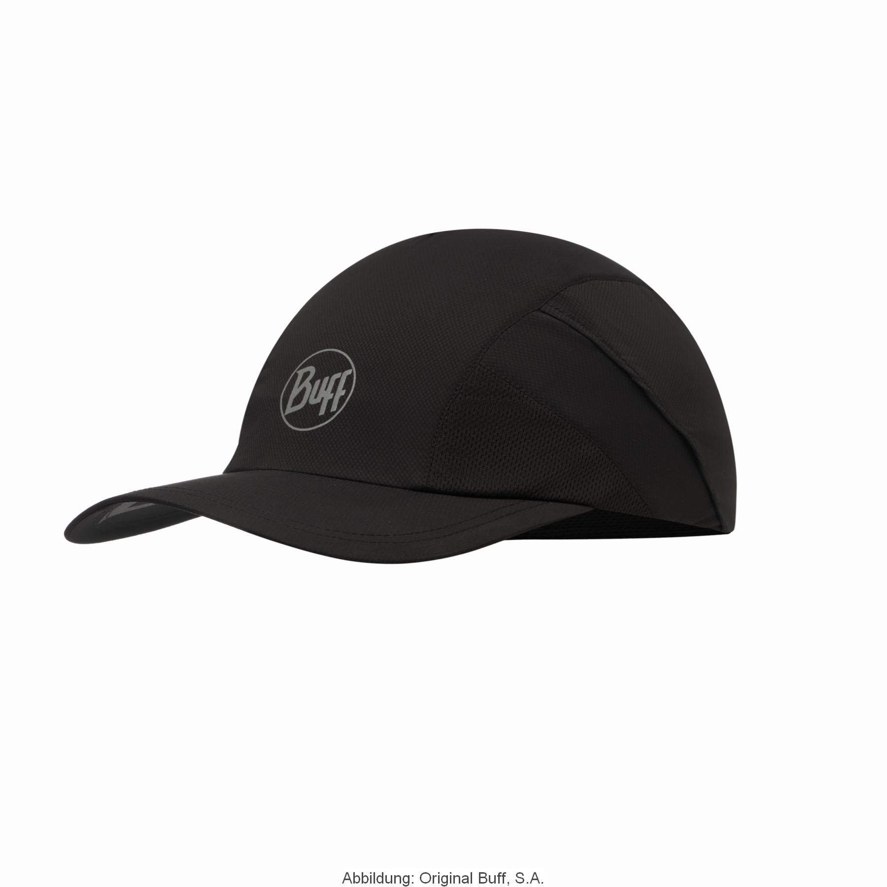 Buff® Pro Run Cap - Solid Black