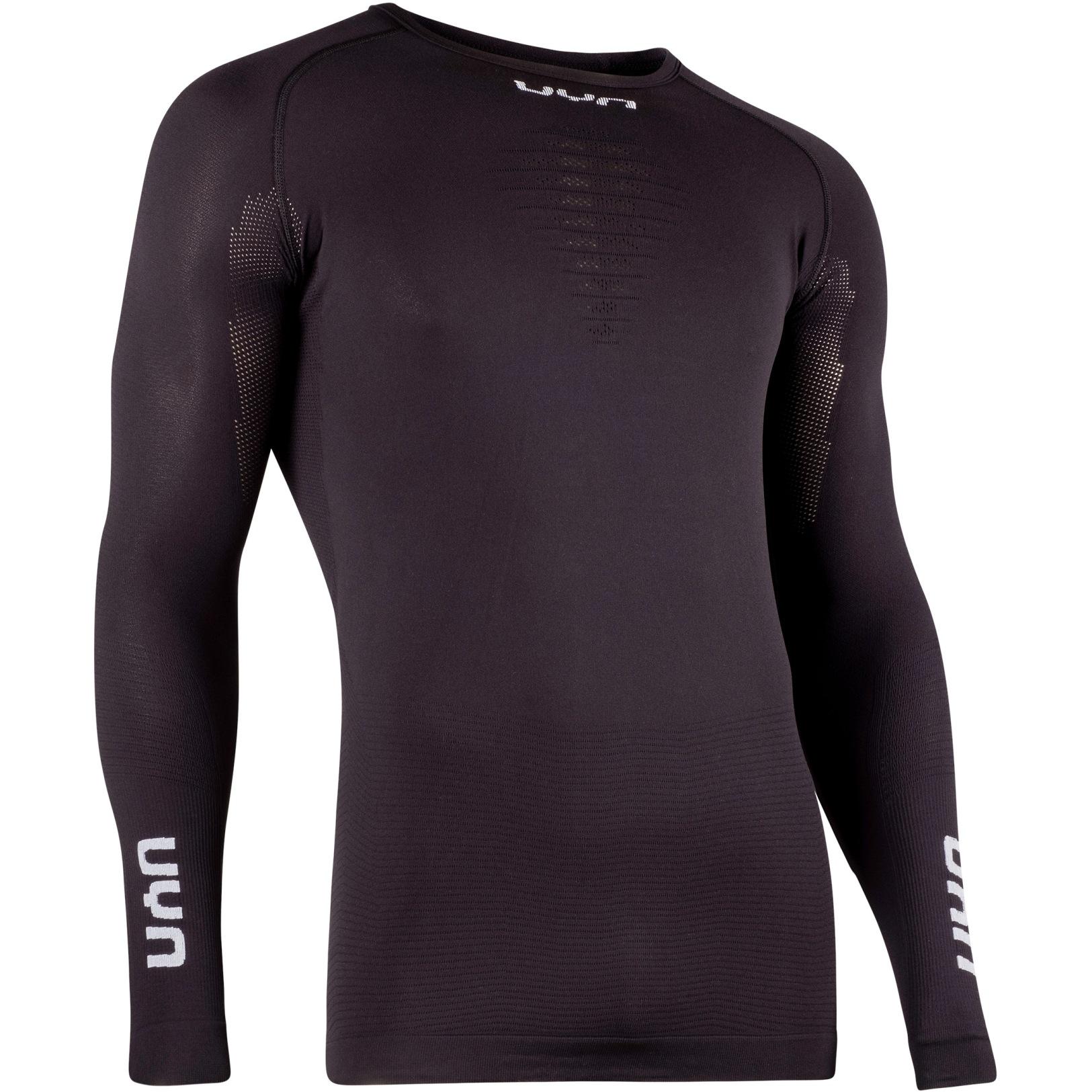Image of UYN Energyon Man Long Sleeve Underwear Shirt - Black