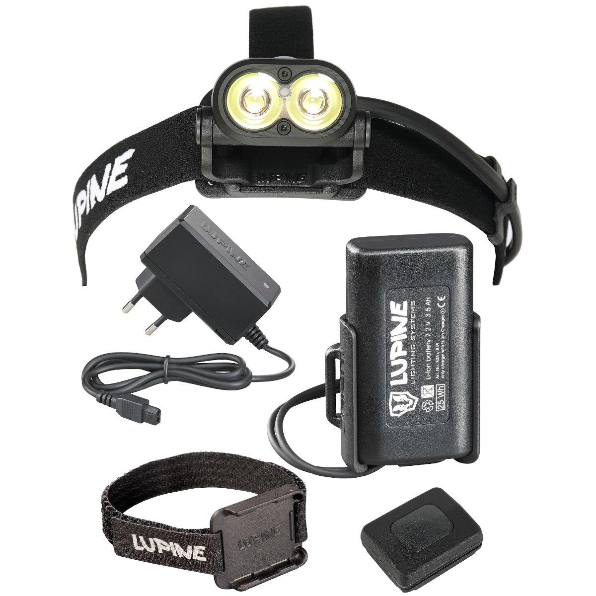 Produktbild von Lupine Piko RX 4 Stirnlampe - 1900 lm - schwarz