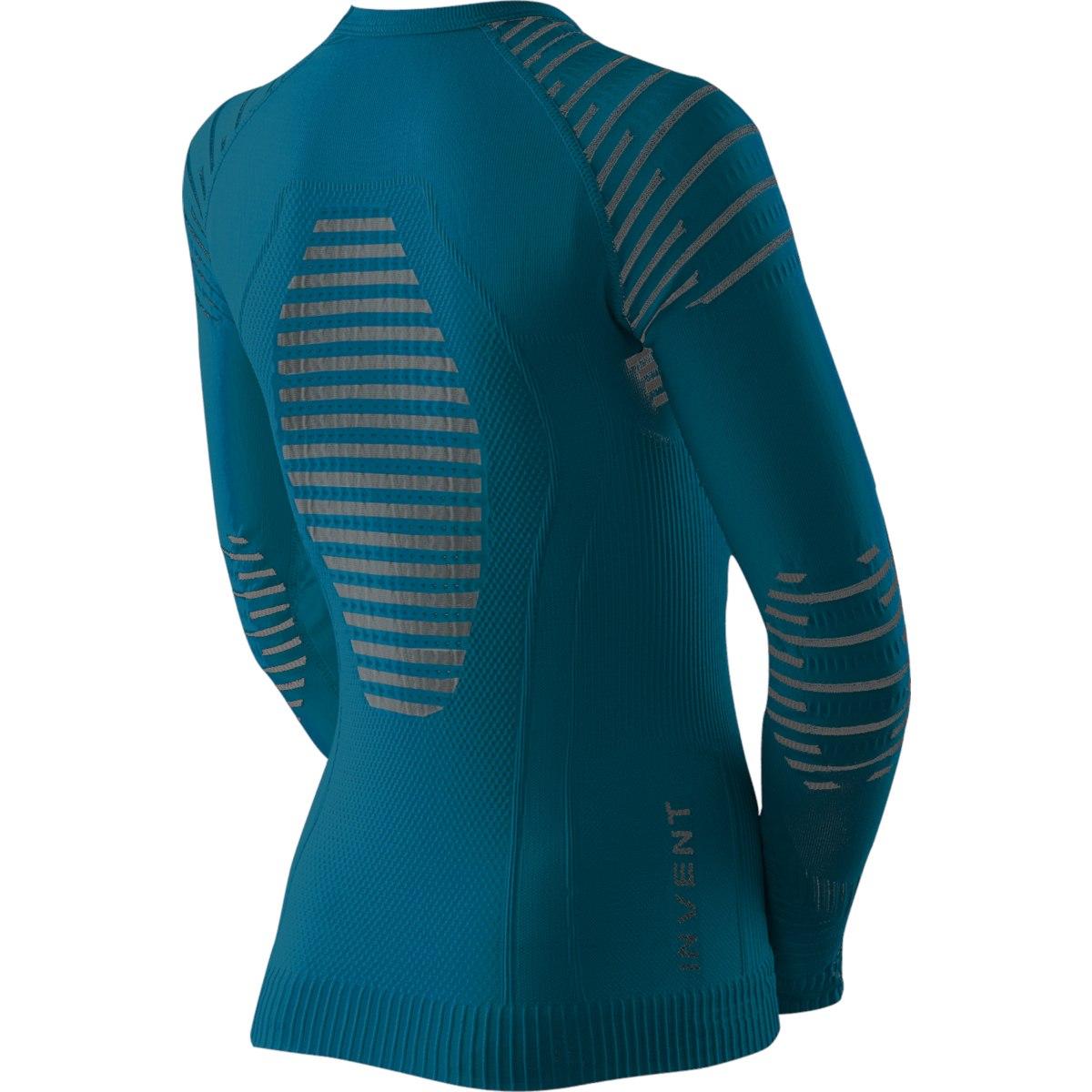 Bild von X-Bionic Invent 4.0 Shirt Round Neck Langarm-Unterhemd für Kinder - teal blue/anthracite