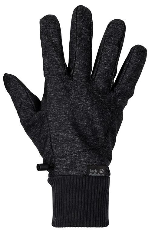 Jack Wolfskin Winter Travel Handschuhe - schwarz