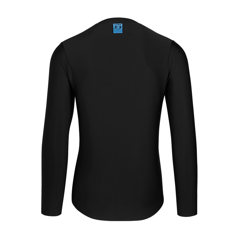 Image of Assos EQUIPE RS Winter Long Sleeve Mid Layer Jersey - blackSeries