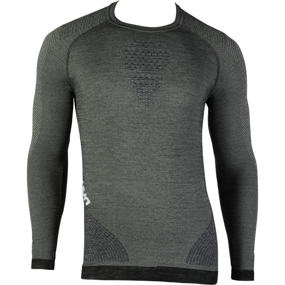 UYN Fusyon Underwear Langarmshirt - Grey York/Avio/White
