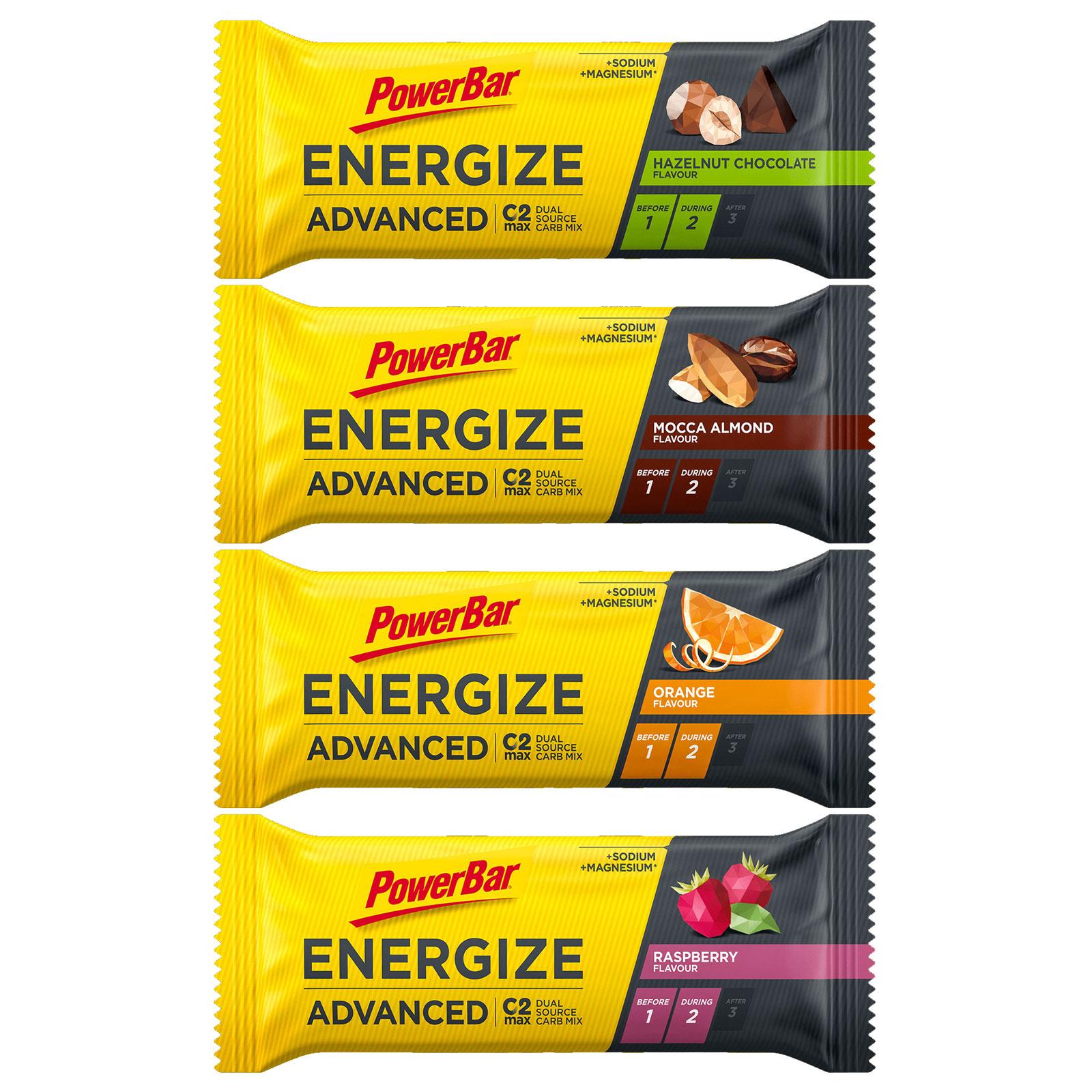 Produktbild von PowerBar Energize Advanced - Kohlenhydrat-Riegel - 55g