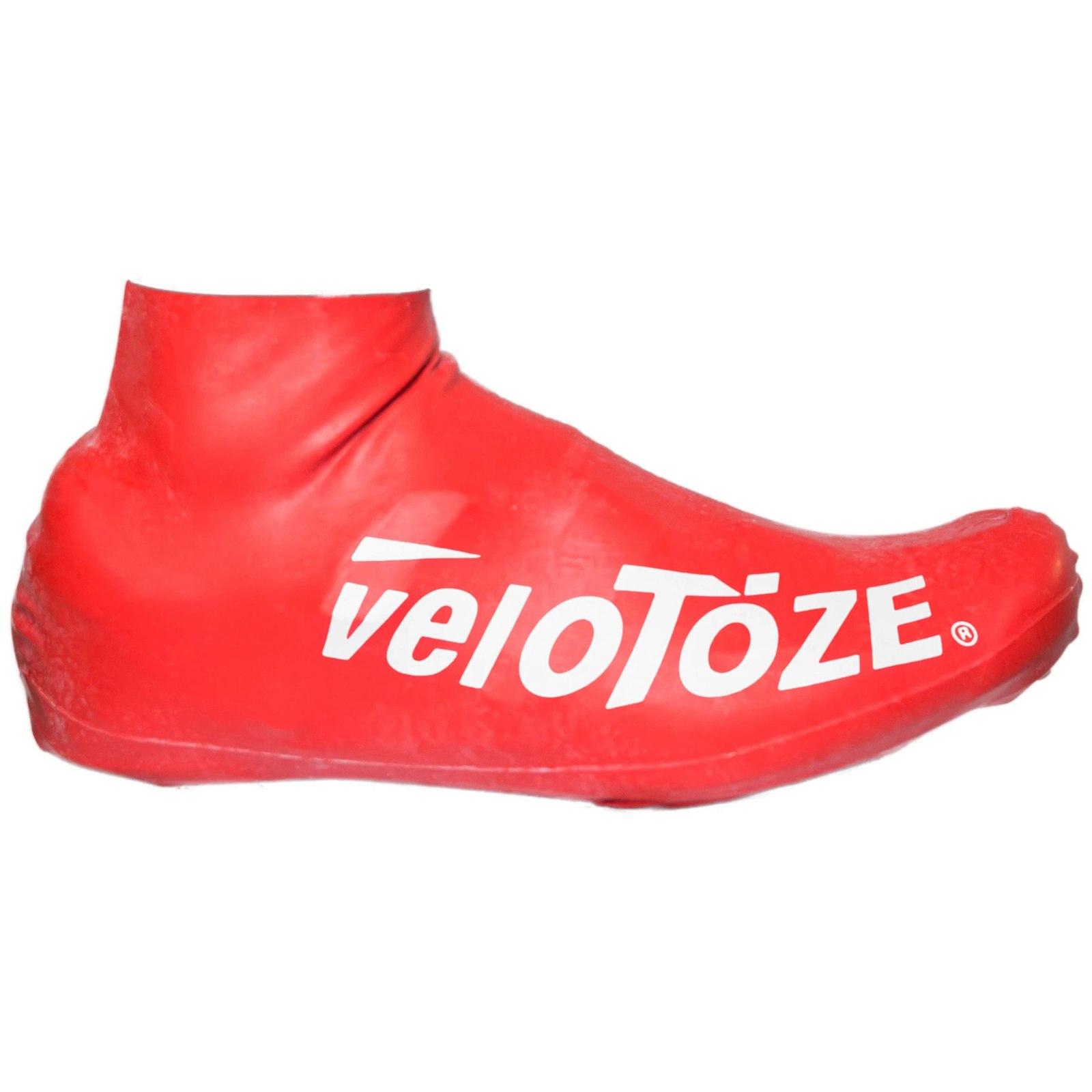 veloToze Short Shoe Cover Road 2.0 - Überschuh Kurz - red