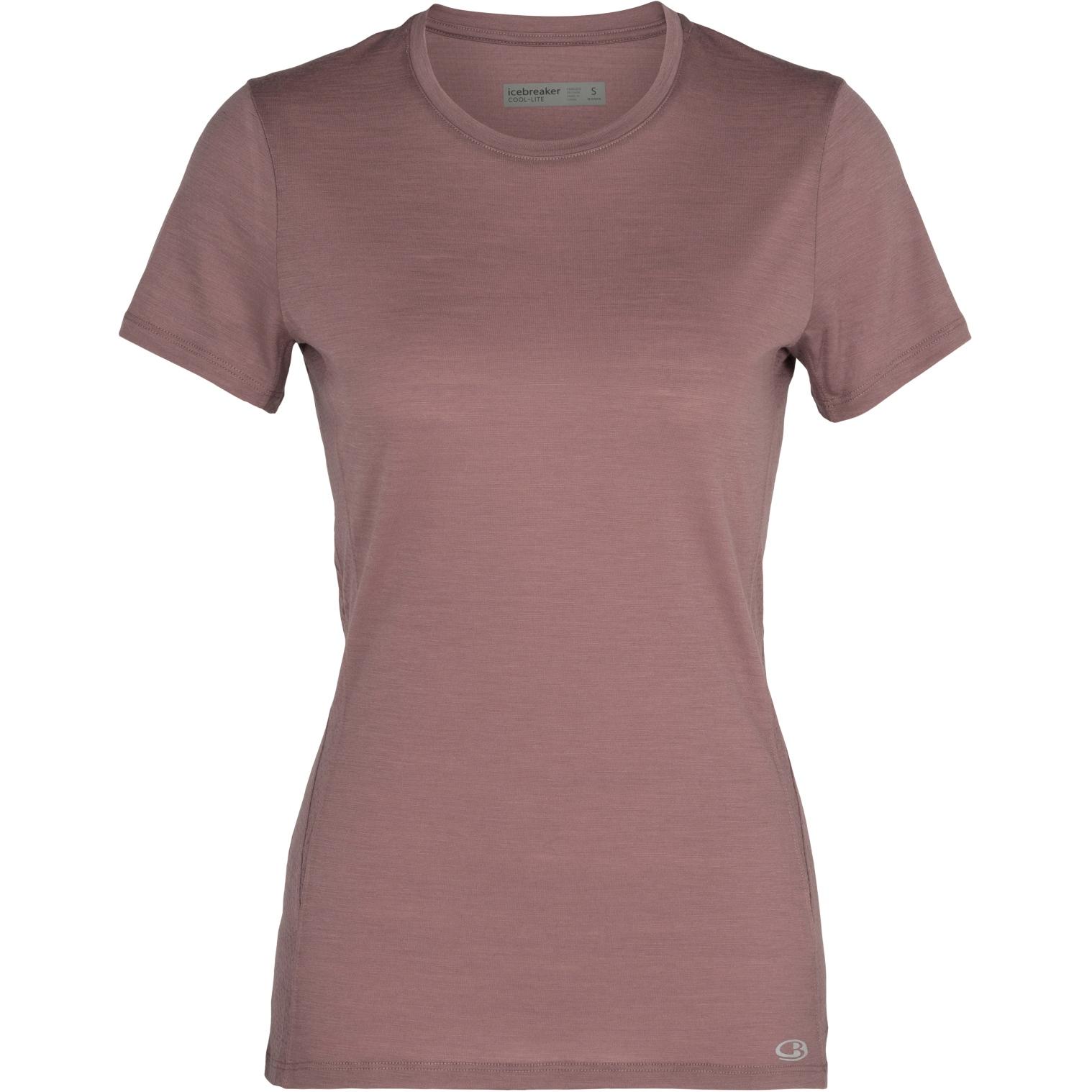 Produktbild von Icebreaker Amplify Low Crewe Damen T-Shirt - Suede