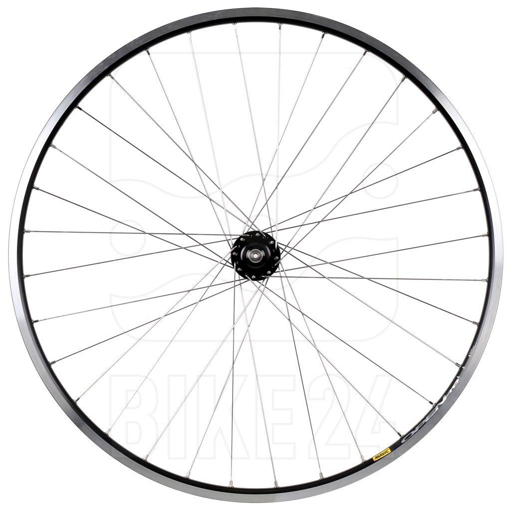 "SON delux | Mavic - Open Pro 28"" Front Wheel with Hub Dynamo - Rim Brake - QR"
