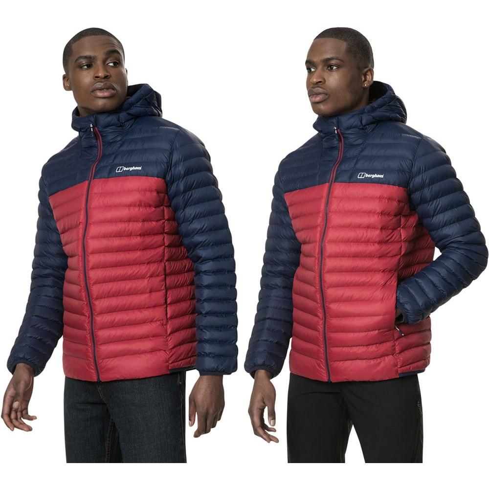 Image of Berghaus Men's Vaskye Insulated Jacket - Red Dahlia/Dusk CZ9