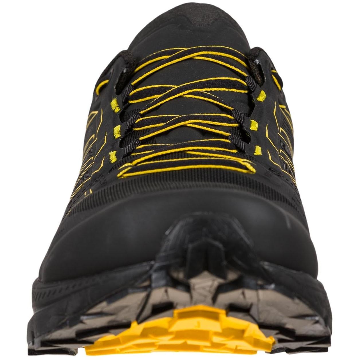 Image of La Sportiva Jackal GTX Running Shoes - Black/Yellow