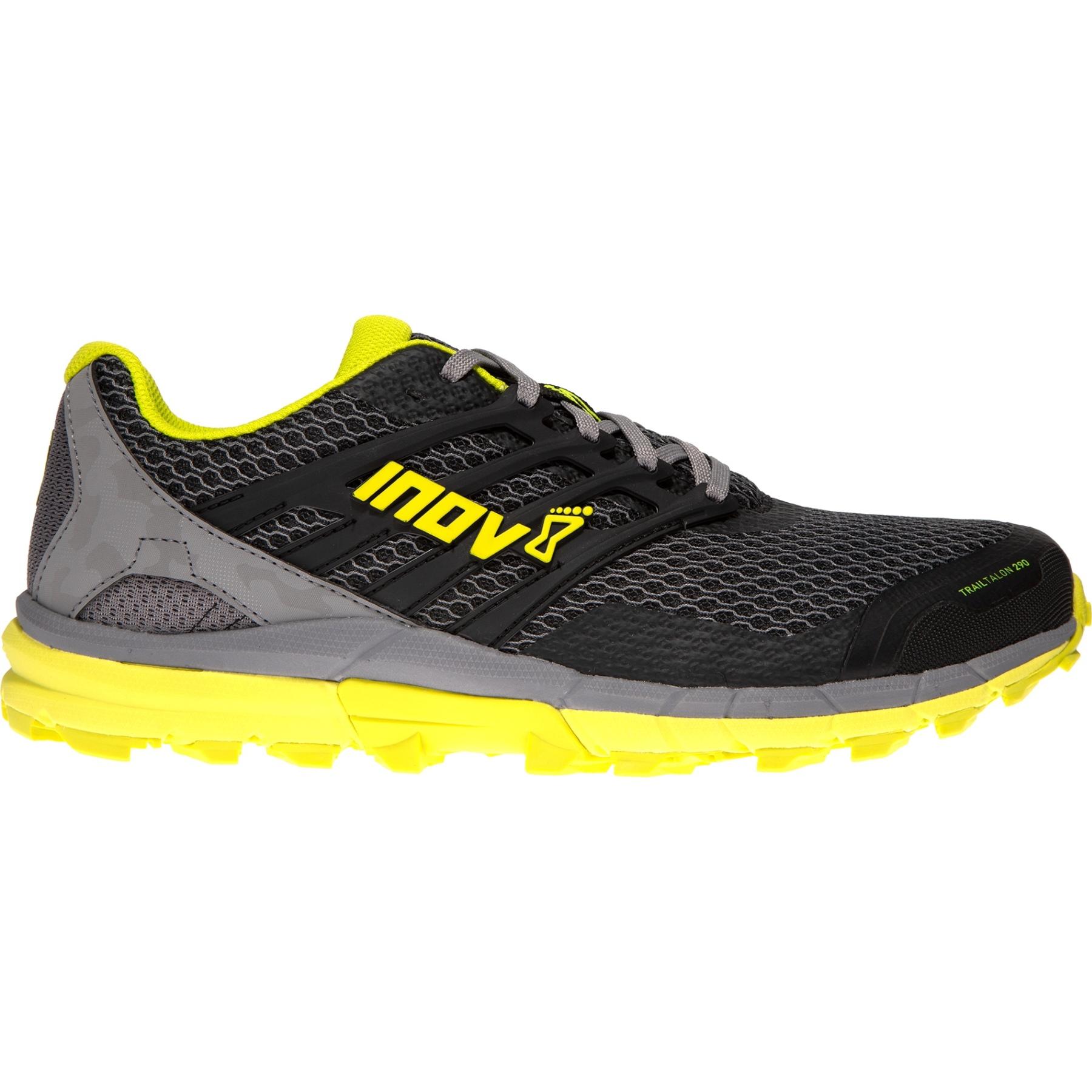 Produktbild von Inov-8 Trailtalon™ 290 V2 Trail Laufschuhe - black/grey/yellow
