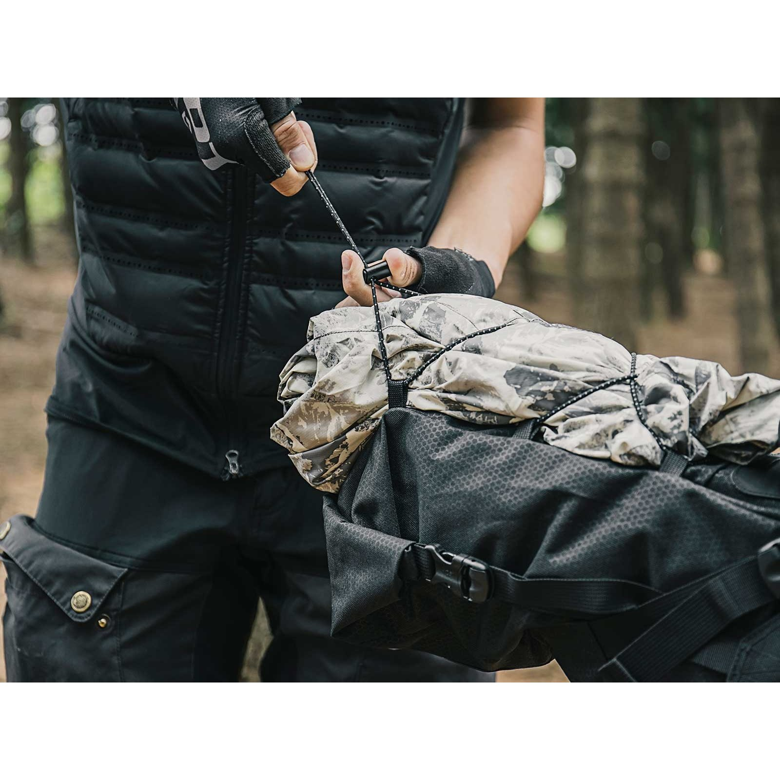 Image of Topeak BackLoader Saddle Bag - green