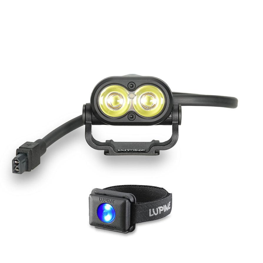 Produktbild von Lupine Piko R 7 Helmlampe - 1900 lm - schwarz