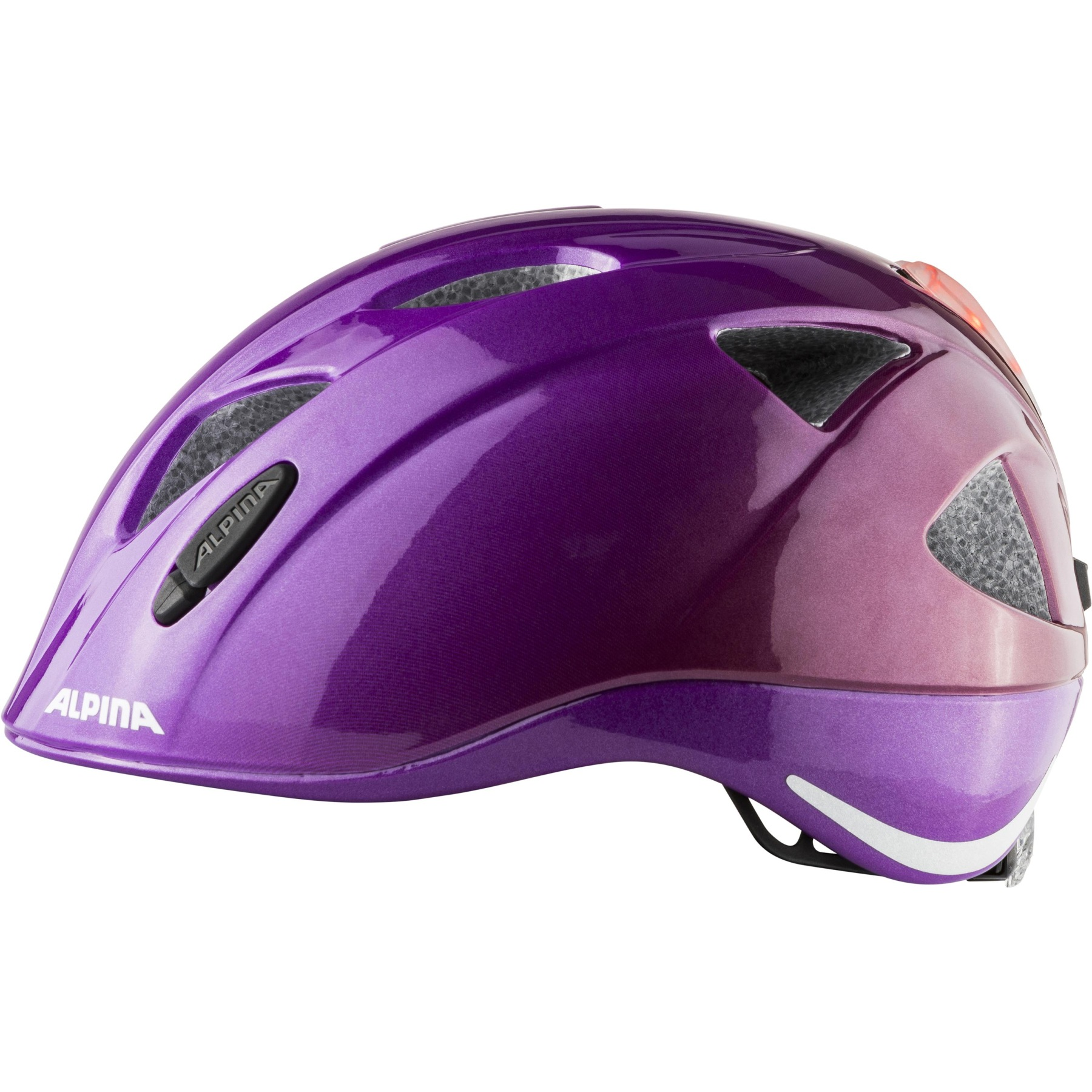 Image of Alpina Ximo Flash Kids Helmet - berry gloss