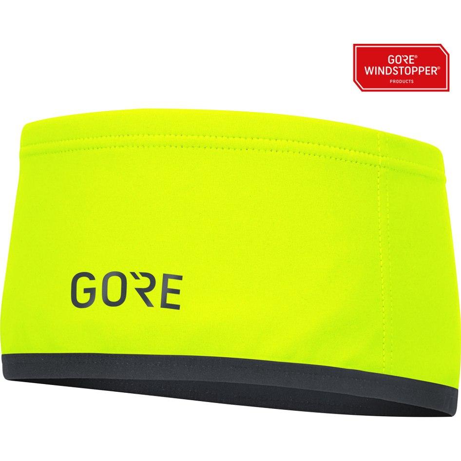 Produktbild von GORE Wear M GORE® WINDSTOPPER® Stirnband - neon yellow 0800