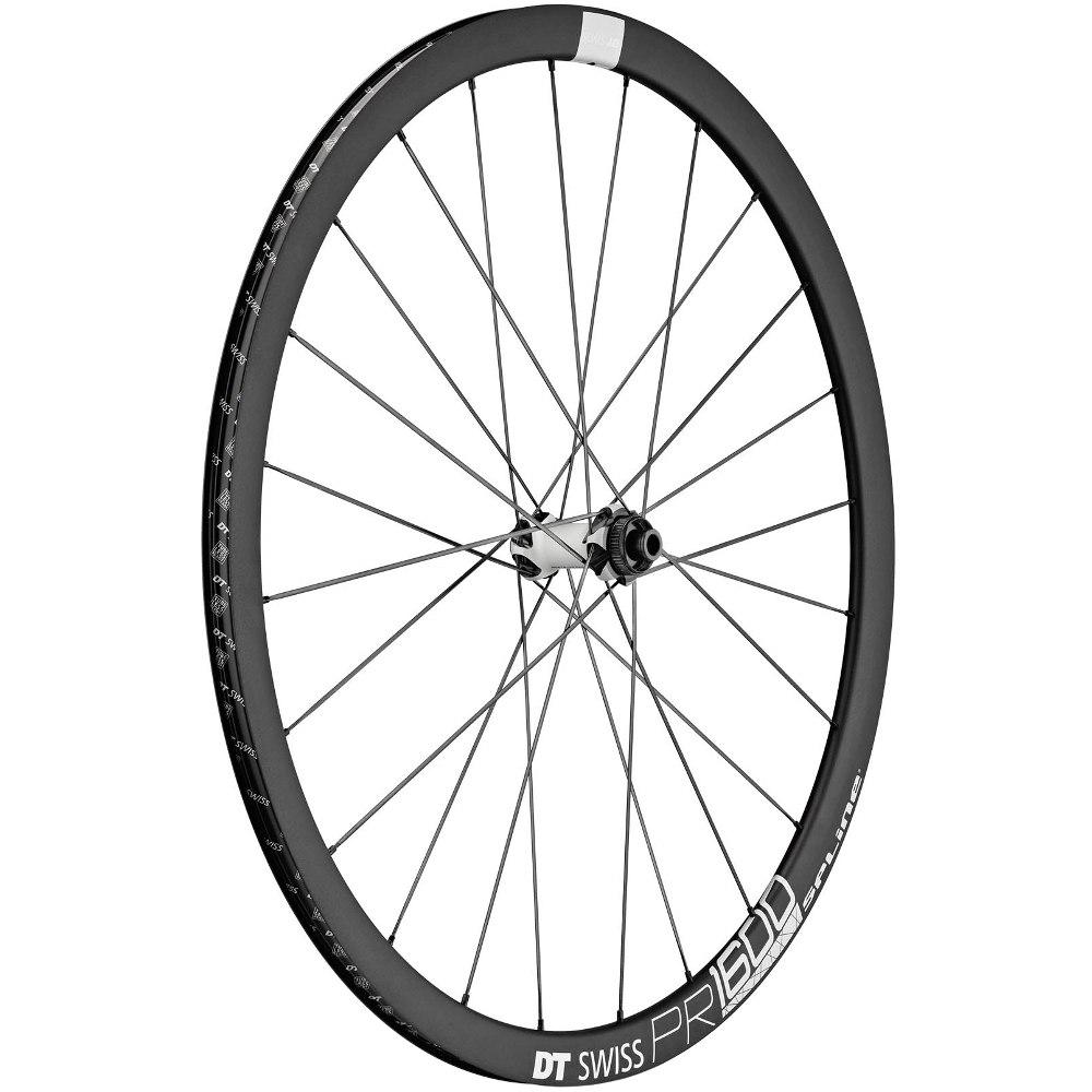 DT Swiss PR 1600 SPLINE db 32 - Front Wheel - Clincher - Centerlock / IS - 12x100mm / 15x100mm / QR
