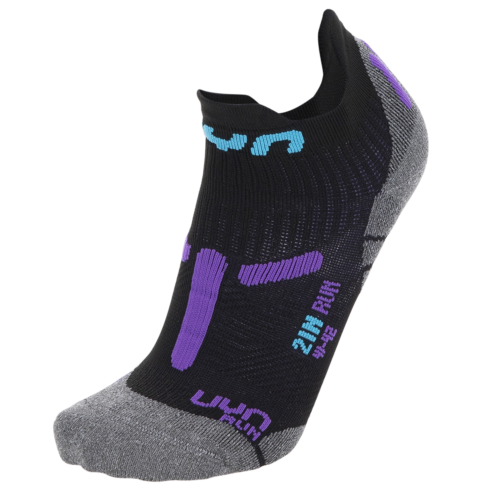 Bild von UYN Run 2In Damen Laufsocken - Black/Violet